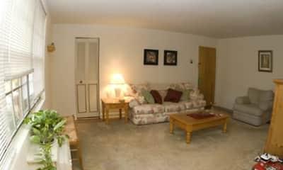 Living Room, Springton Court Apartments, 2