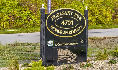 Community Signage, Pleasant Run Senior Apartments, 2