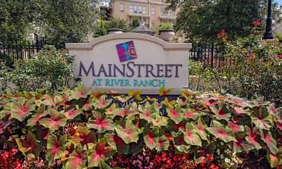 Community Signage, MainStreet At River Ranch, 2