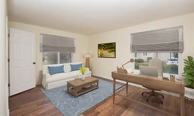 Living Room, Rosewood Condominiums, 0
