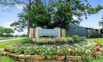 Community Signage, The Element, 2