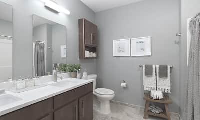 Bathroom, The Residences at Executive Park, 2