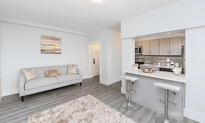 Living Room, Fairfax Apartments, The, 0