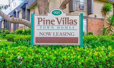 Community Signage, Pine Villa Apartments, 2