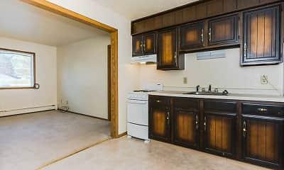 Kitchen, Ashwood Apartments, 1