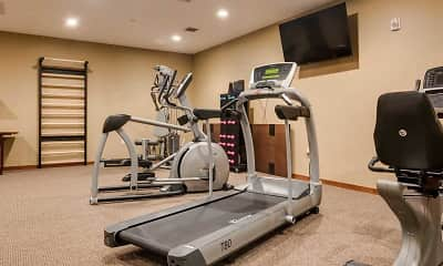 Fitness Weight Room, Heritage Muskego Senior Living, 1