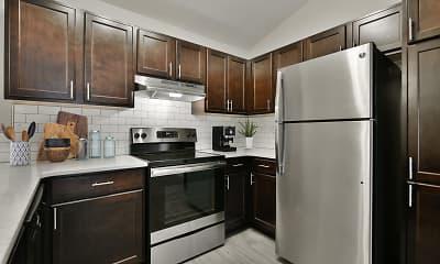 Kitchen, Whispering Ridge, 1