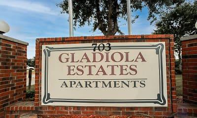 Community Signage, Gladiola Estates/ Gladiola Manor, 2