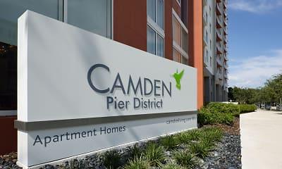 Community Signage, Camden Pier District, 2