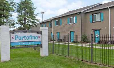 Community Signage, Portofino Apartments, 2