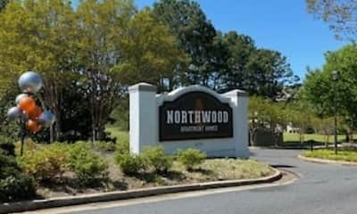 Community Signage, Northwood Apartment Homes, 0