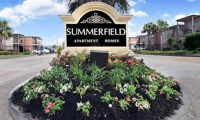 Community Signage, Summerfield Apartment Homes, 1