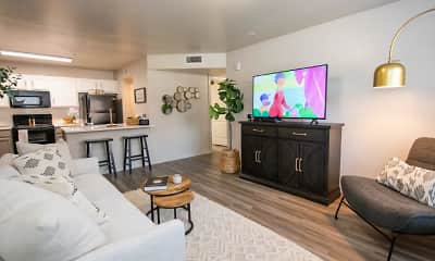 Living Room, Cross Timber Apartment Homes, 1