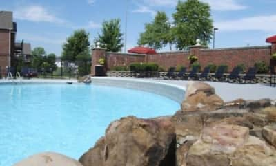 Pool, Williamsburg Plaza, 2