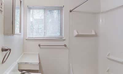 Bathroom, Powell Gardens, 2