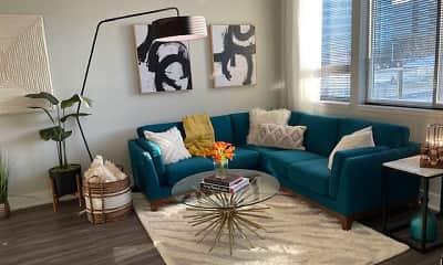 Living Room, Luxor Lifestyle Apartments, 1
