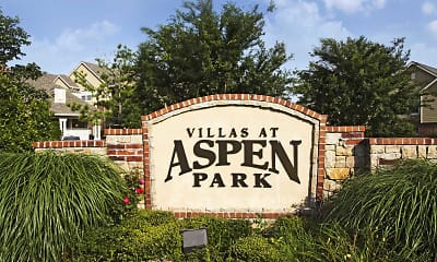 Community Signage, The Villas At Aspen Park, 1