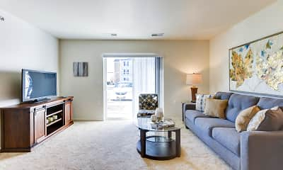Living Room, Lakeview Senior Apartments, 0