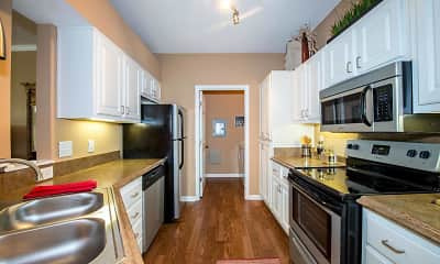 Kitchen, Evergreen at Aubrey's Landing, 2