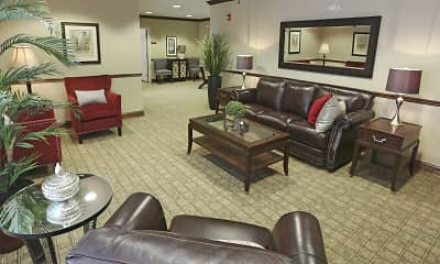 Clubhouse, Transit Pointe Senior Apartments, 1