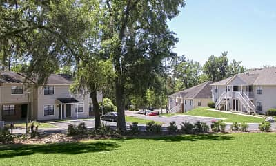 Landscaping, Hillwood Apartments, 1