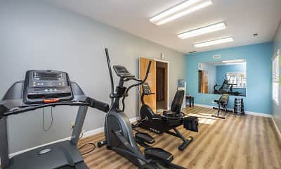 Fitness Weight Room, The Enclave, 0