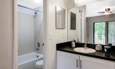 Bathroom, Kings Colony Apartments, 2