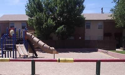 Playground, Trans Mountain Apartments, 2