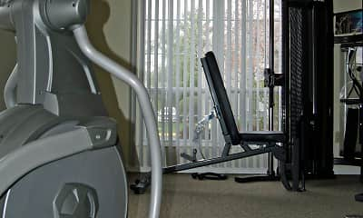 Fitness Weight Room, Spinnaker Club East, 2