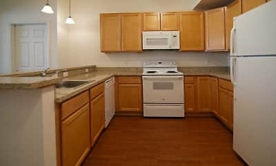 Kitchen, Fox Hills Village Apartments, 1