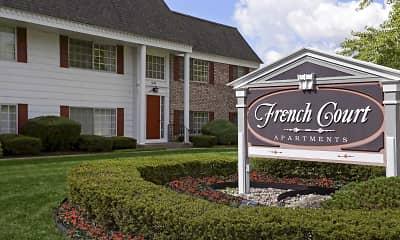 Community Signage, French Court, 0
