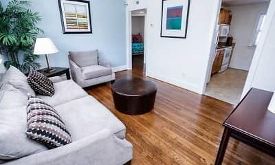 Living Room, Apartments Of Merrimac, 2