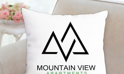 Bedroom, Mountain View Apartments, 2