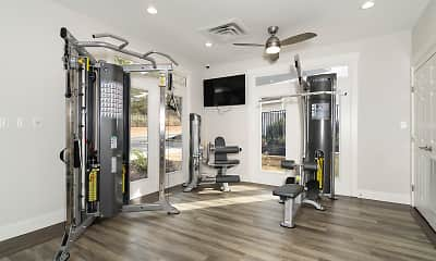 Fitness Weight Room, Willowbrook, 2