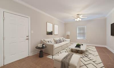 Living Room, Magnolia Landing, 0