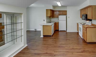 Kitchen, Carpenter Village, 1