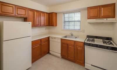 Kitchen, Hempstead Garden Apartments, 0