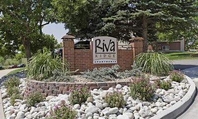 Community Signage, Riva Ridge, 1