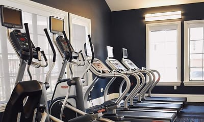 Fitness Weight Room, Draper Village, 2