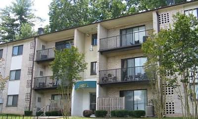 Building, Allyson Gardens Apartments I, 1