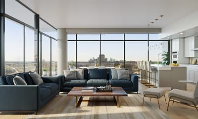 Living Room, Nove at Knox, 1