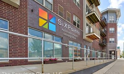 Community Signage, Six Points Apartments, 1