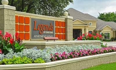 Community Signage, Legends At Chase Oaks, 2