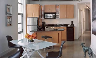 Kitchen, The DeSoto, 1