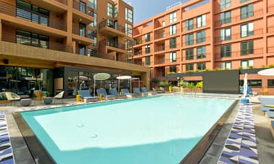 Pool, El Centro Apartments & Bungalows, 0