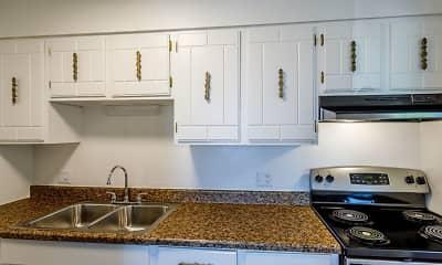 Kitchen, Golden Nugget Apartments, 1