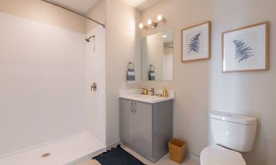 Bathroom, Ace Flats, 1