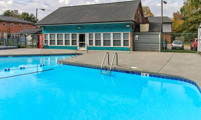 Pool, Town Homes at Little Creek, 1