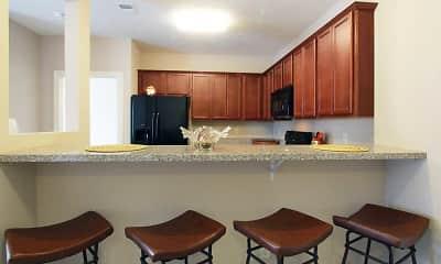 Kitchen, Elk Hills Apartments, 1