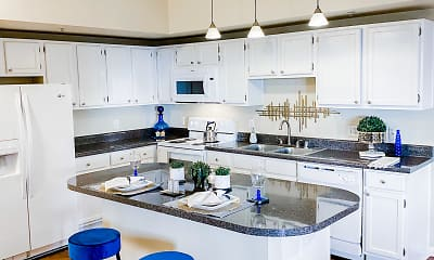 Kitchen, The Villas At Katy Trail, 1